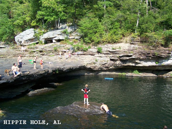 SwimmingHoles info Alabama Swimming Holes and Hot Springs