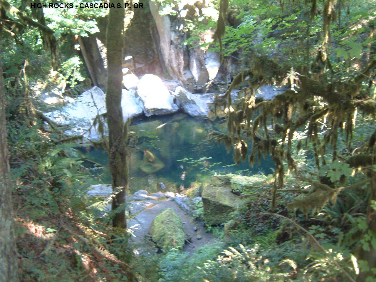 SwimmingHoles info Oregon Swimming Holes and Hot Springs