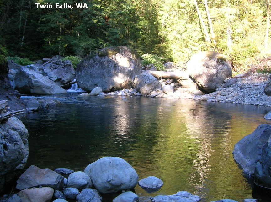 SwimmingHoles info Washington Swimming Holes and Hot Springs rivers