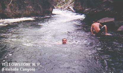 WYOMING Swimming Holes and Hot Springs rivers creek springs